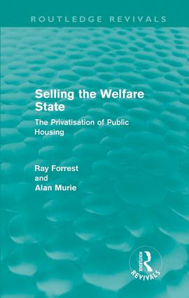 Selling the Welfare State