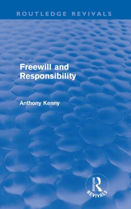 Freewill and Responsibility (Paperback) book cover