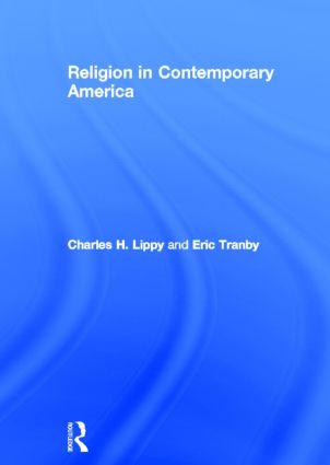 Religion in Contemporary America (Hardback) book cover