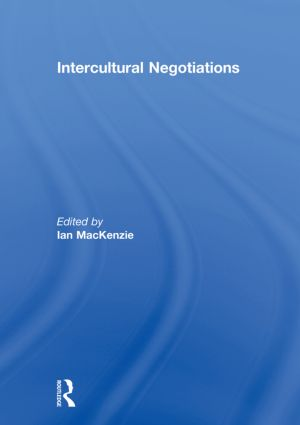 Intercultural Negotiations: 1st Edition (Hardback) book cover