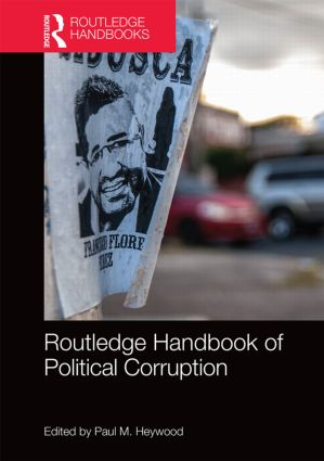 Routledge Handbook of Political Corruption (Hardback) book cover