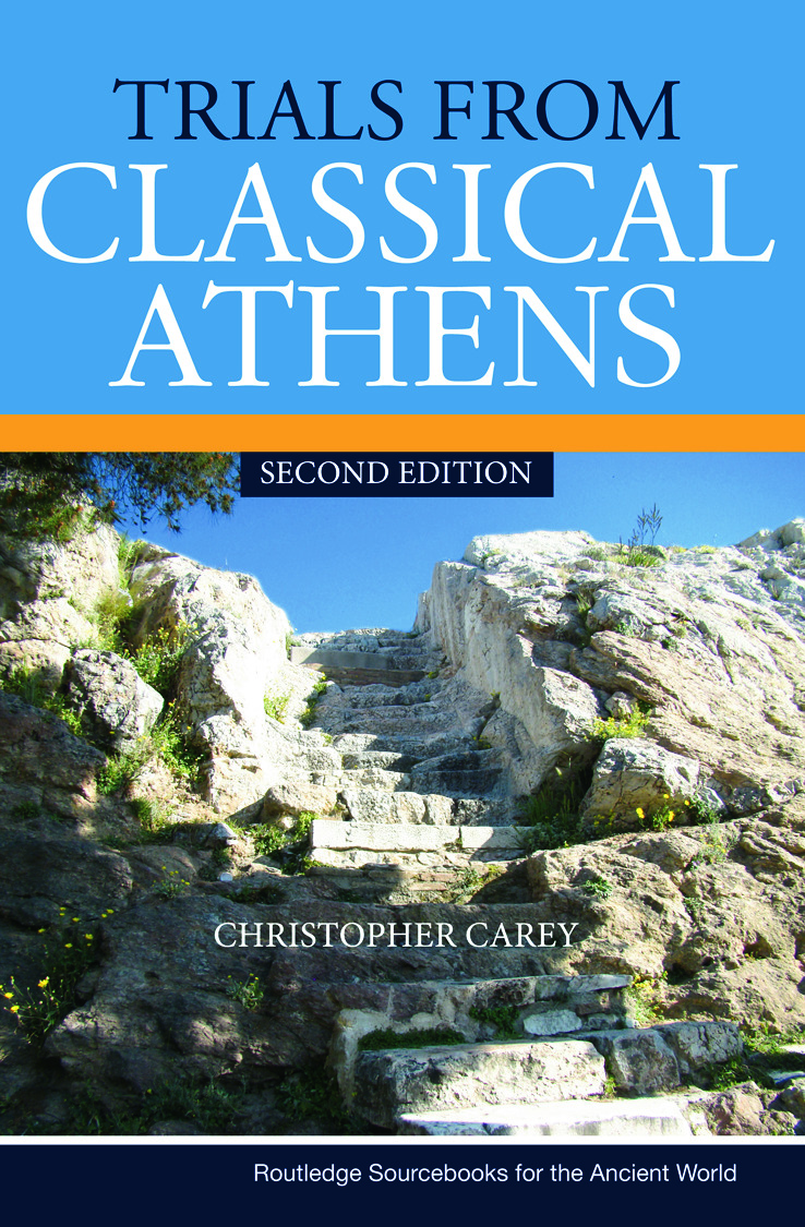 Trials from Classical Athens: 2nd Edition (Paperback) book cover