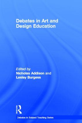 Debates in Art and Design Education book cover