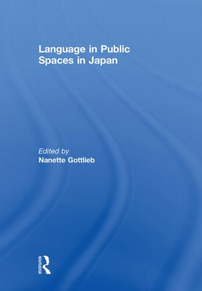 Language in Public Spaces in Japan book cover