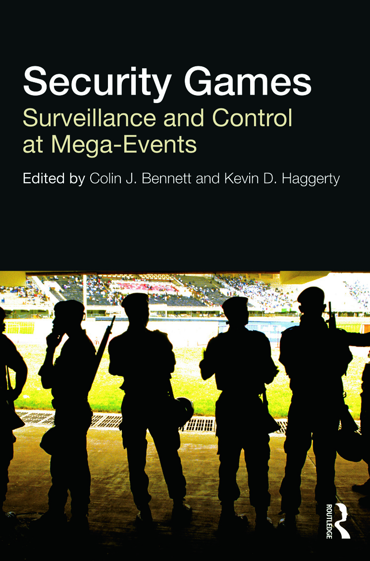 Security Games: Surveillance and Control at Mega-Events (Paperback) book cover