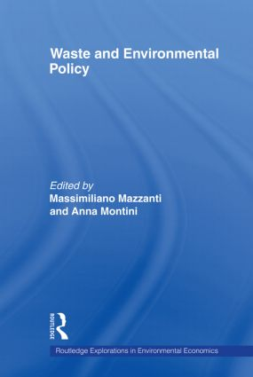 Waste and Environmental Policy (Paperback) book cover