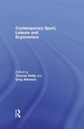 Contemporary Sport, Leisure and Ergonomics book cover