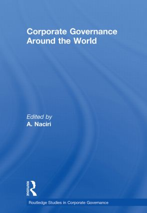 Corporate Governance Around the World (Paperback) book cover