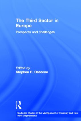 The Third Sector in Europe: Prospects and challenges (Paperback) book cover