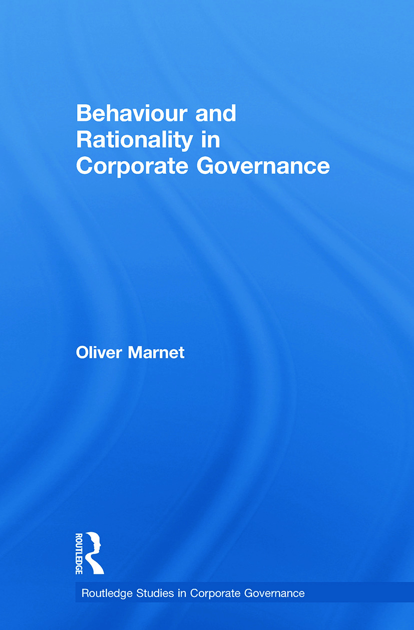 Behaviour and Rationality in Corporate Governance book cover