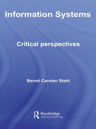 Information Systems: Critical Perspectives (Paperback) book cover
