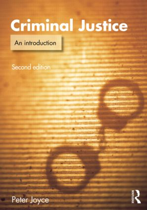 Criminal Justice: An Introduction book cover