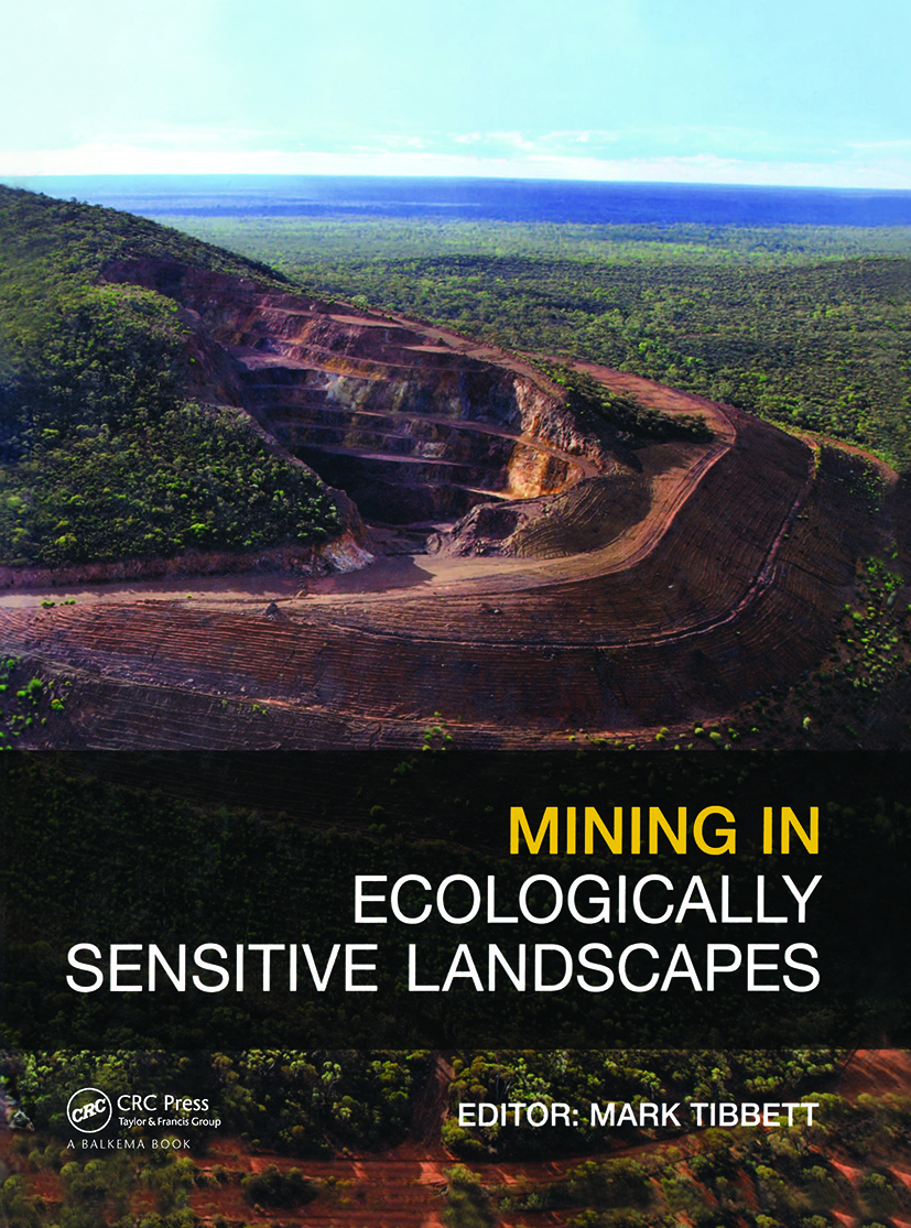 Mining in Ecologically Sensitive Landscapes: 1st Edition (Hardback) book cover