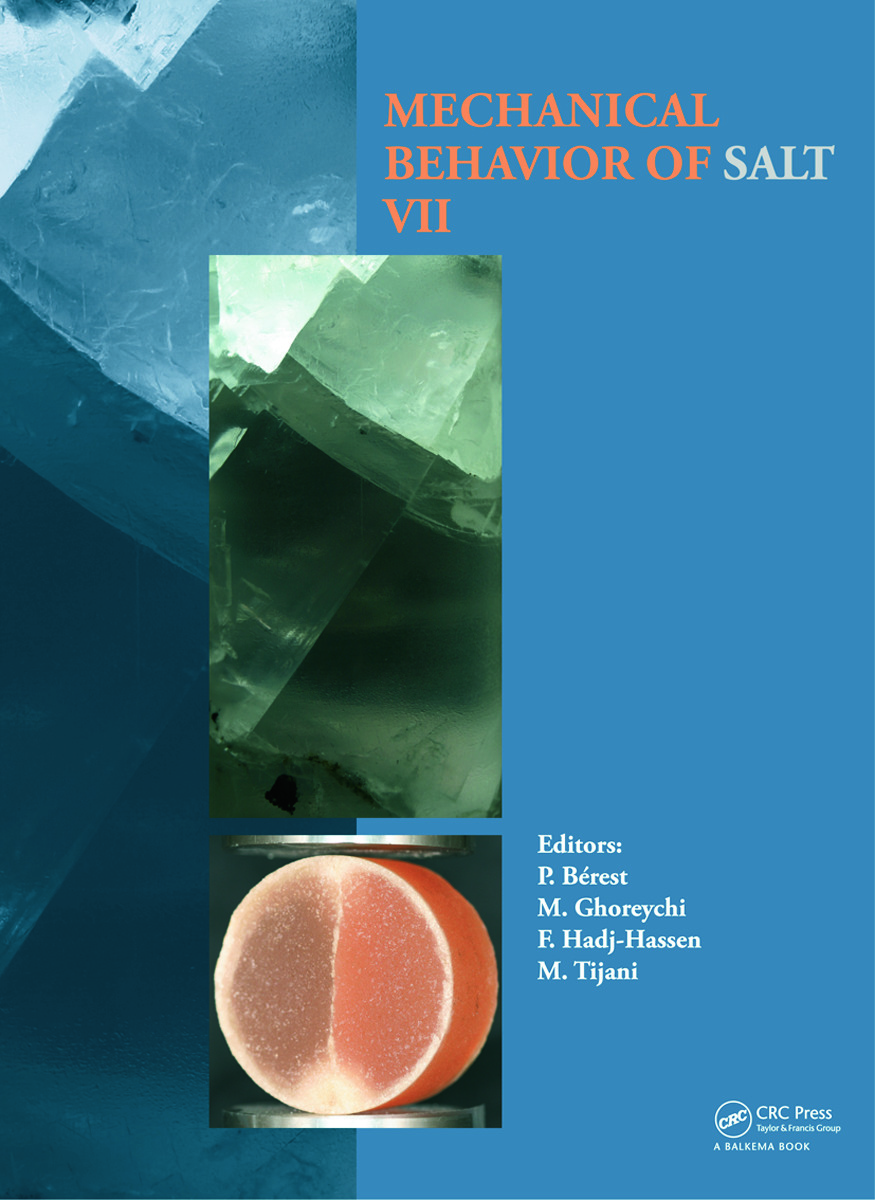 Mechanical Behaviour of Salt VII: 1st Edition (Hardback) book cover