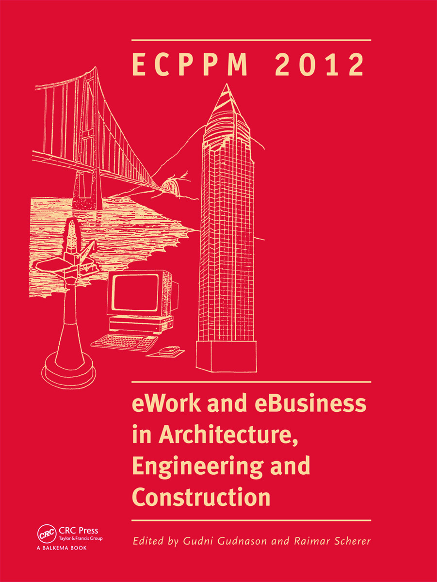 eWork and eBusiness in Architecture, Engineering and Construction: ECPPM 2012 (Hardback) book cover