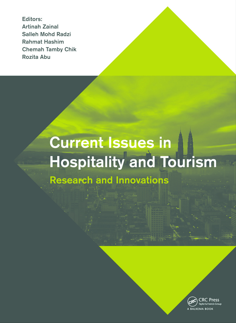 Current Issues in Hospitality and Tourism: Research and Innovations, 1st Edition (Hardback) book cover