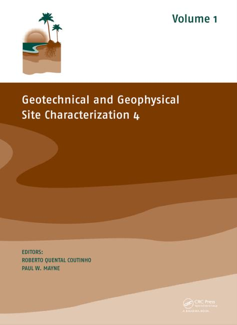 Geotechnical and Geophysical Site Characterization 4 (Pack - Book and CD) book cover