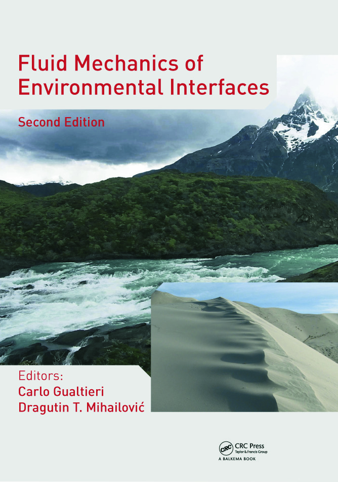 Fluid Mechanics of Environmental Interfaces, Second Edition: 2nd Edition (Hardback) book cover