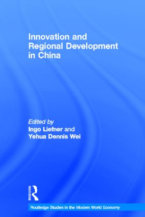 Innovation and Regional Development in China (Hardback) book cover