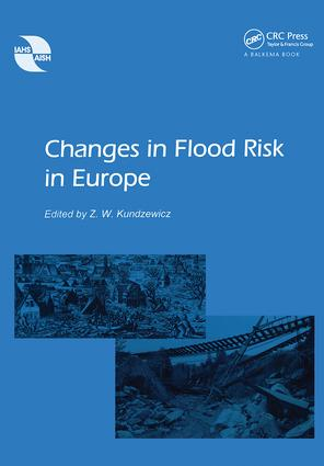 Changes in Flood Risk in Europe: 1st Edition (Paperback) book cover