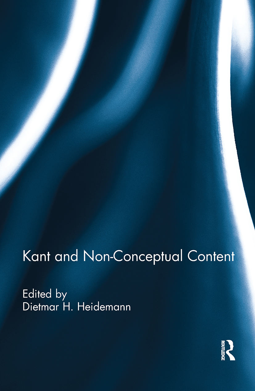 Kant and Non-Conceptual Content: 1st Edition (Hardback) book cover