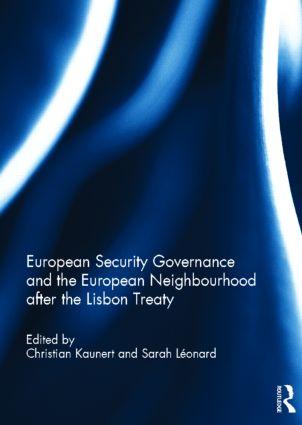 European Security Governance and the European Neighbourhood after the Lisbon Treaty (Hardback) book cover