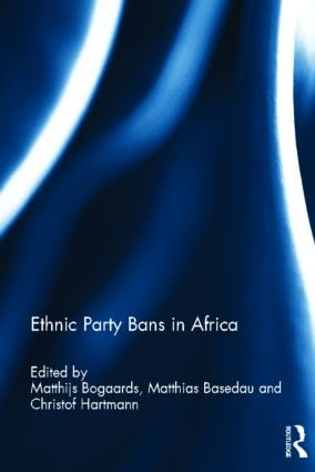 Ethnic Party Bans in Africa (Hardback) book cover