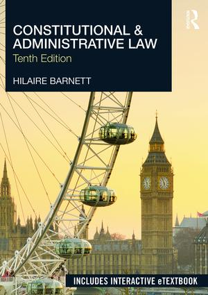 Constitutional & Administrative Law: 10th Edition (e-Book