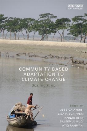 Community-Based Adaptation to Climate Change: Scaling it up (Paperback) book cover