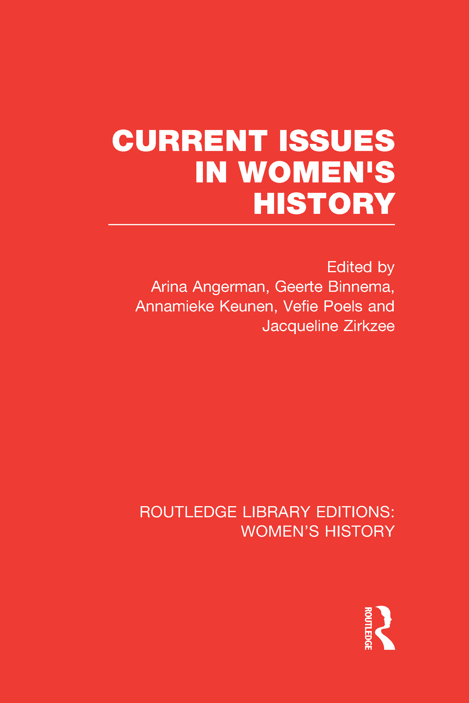 Current Issues in Women's History (Hardback) book cover