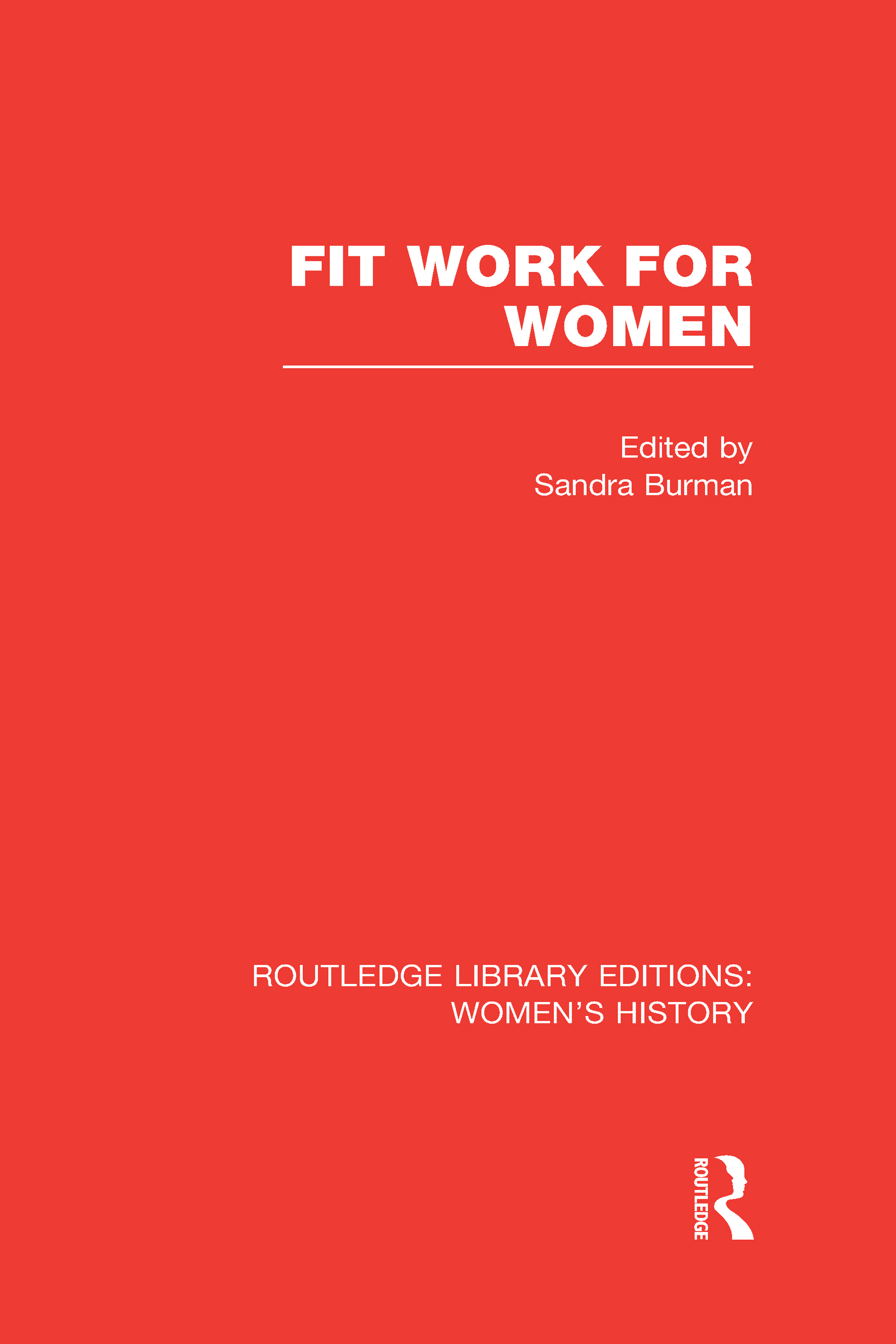 Fit Work for Women (Hardback) book cover