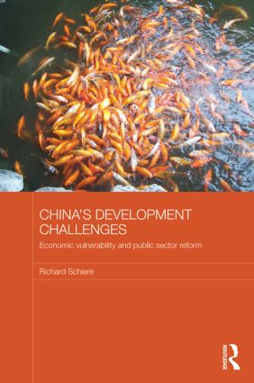 China's Development Challenges: Economic Vulnerability and Public Sector Reform (Paperback) book cover