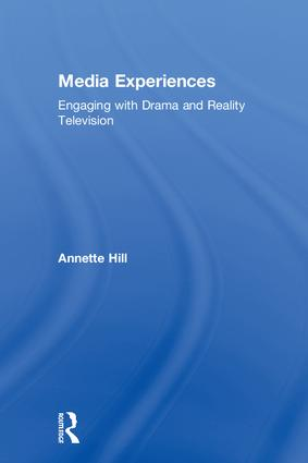 Media Experiences: Engaging with Drama and Reality Television book cover