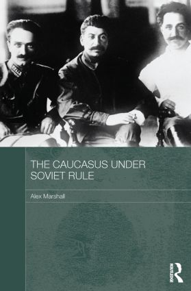The Caucasus Under Soviet Rule book cover