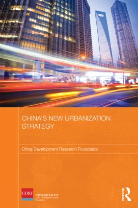 China's New Urbanization Strategy (Hardback) book cover