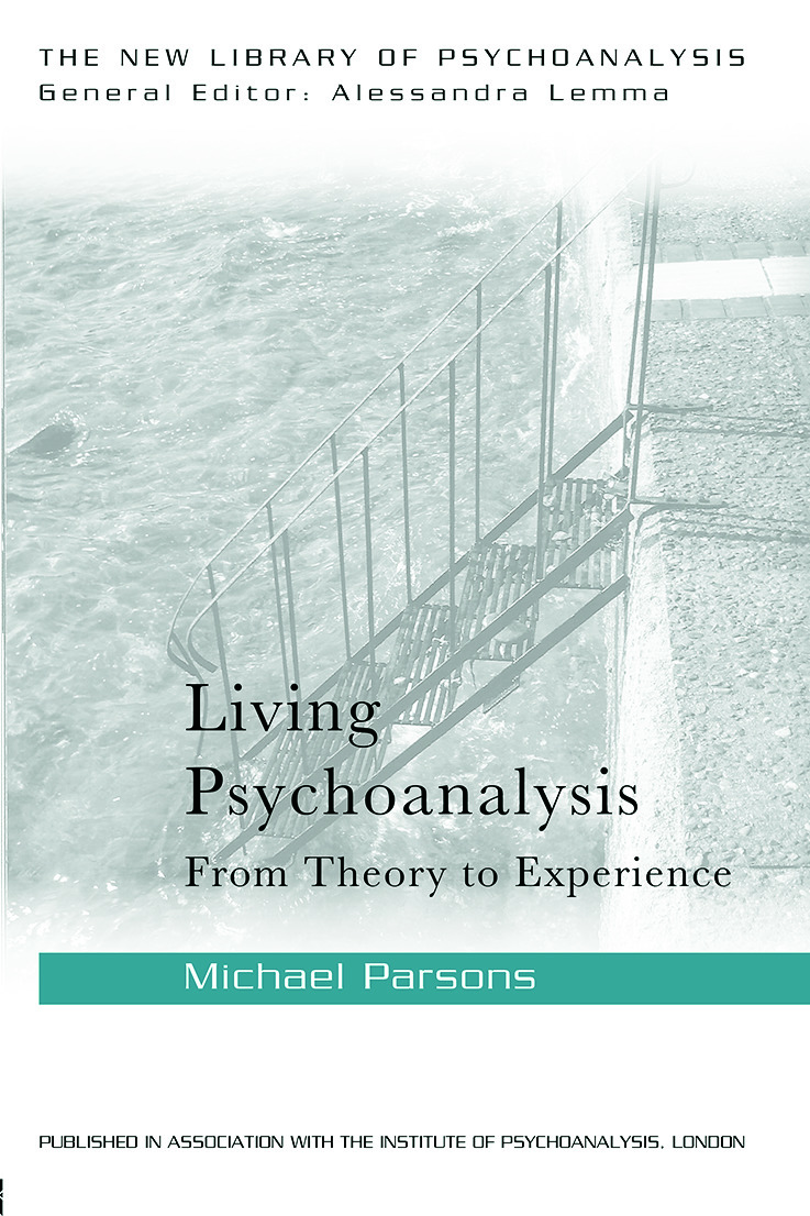 Living Psychoanalysis: From theory to experience, 1st Edition (Paperback) book cover