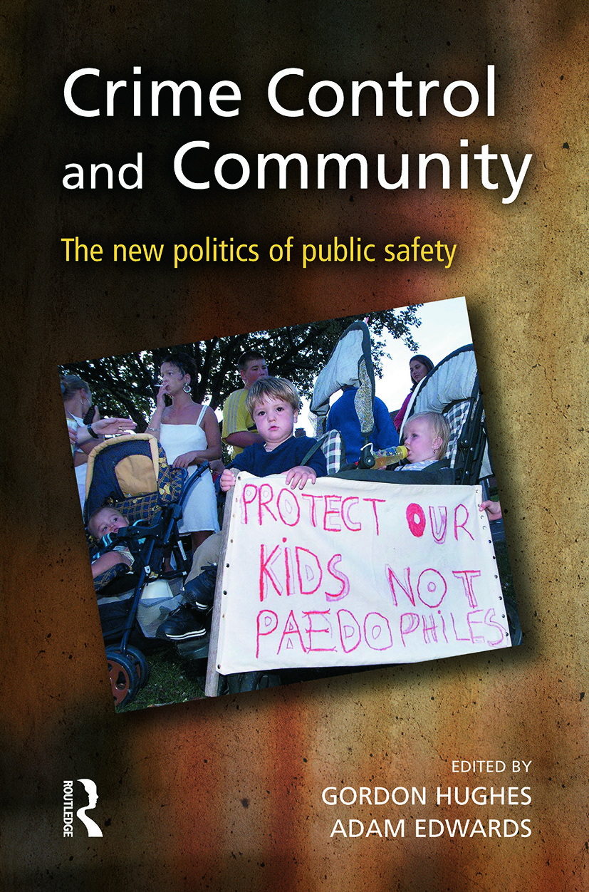Crime Control and Community (Paperback) book cover