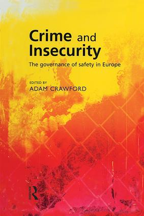 Crime and Insecurity (Paperback) book cover