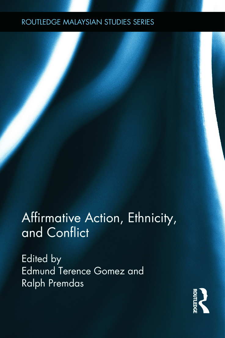 Affirmative Action, Ethnicity and Conflict (Hardback) book cover