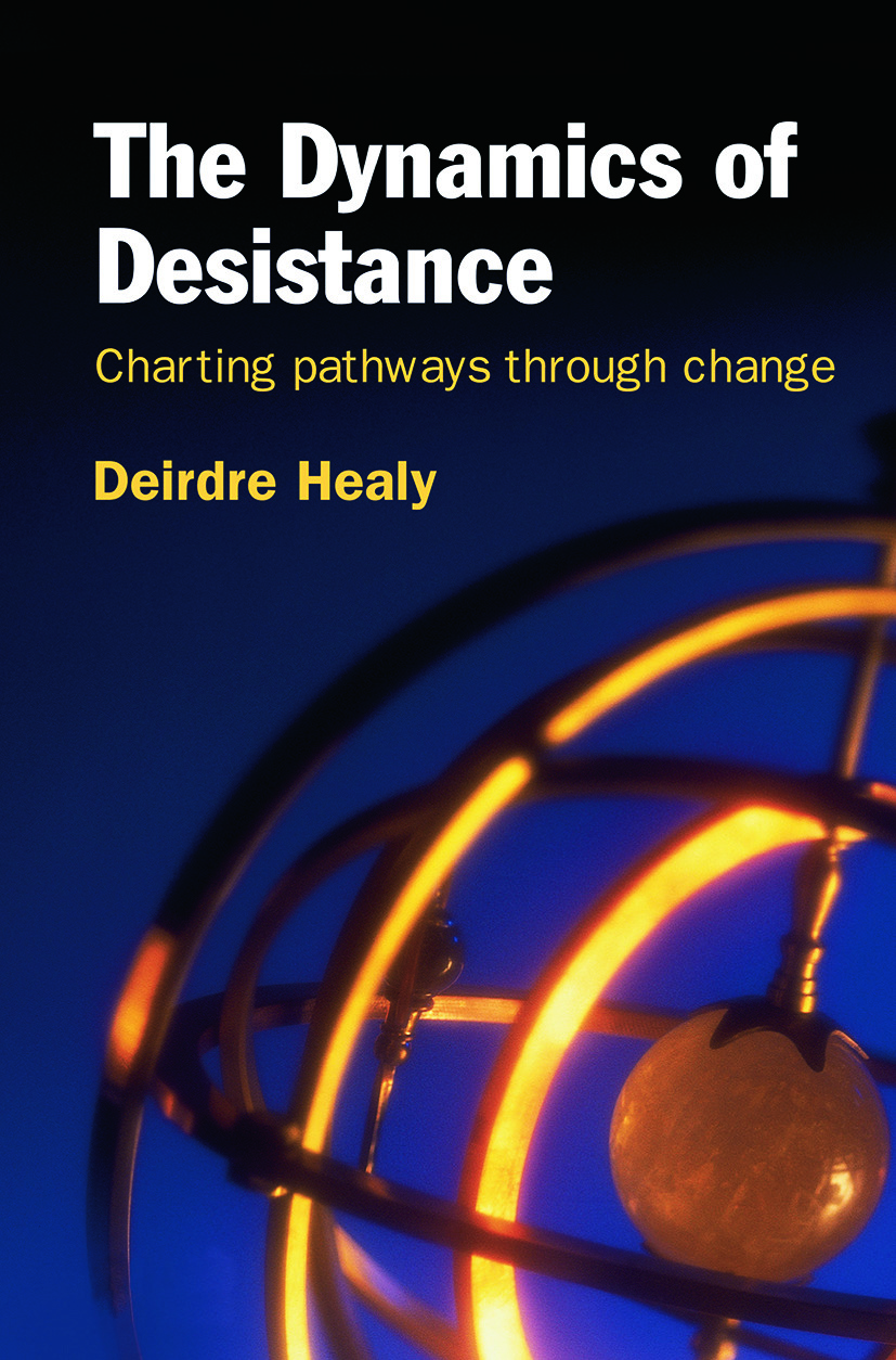 The Dynamics of Desistance: Charting Pathways Through Change (Paperback) book cover