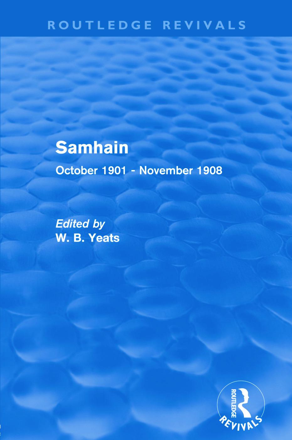 Samhain: October 1901 - November 1908, 1st Edition (Paperback) book cover