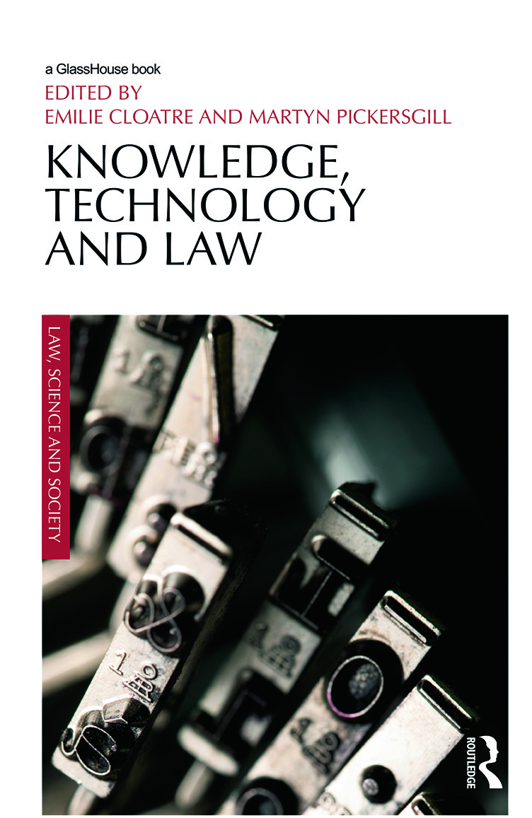 Knowledge, Technology and Law (Hardback) book cover