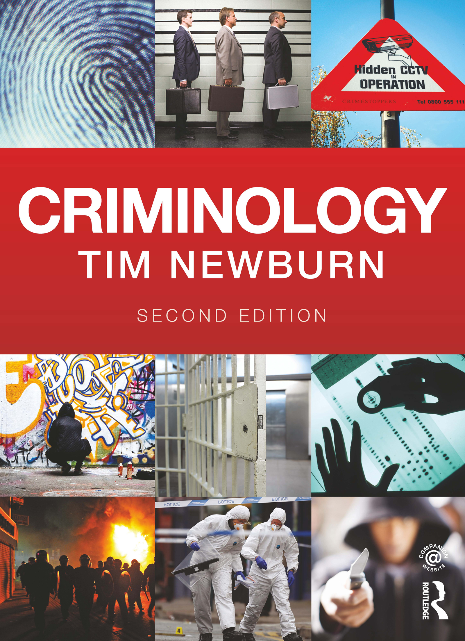 Criminology: 2nd Edition (Paperback) book cover