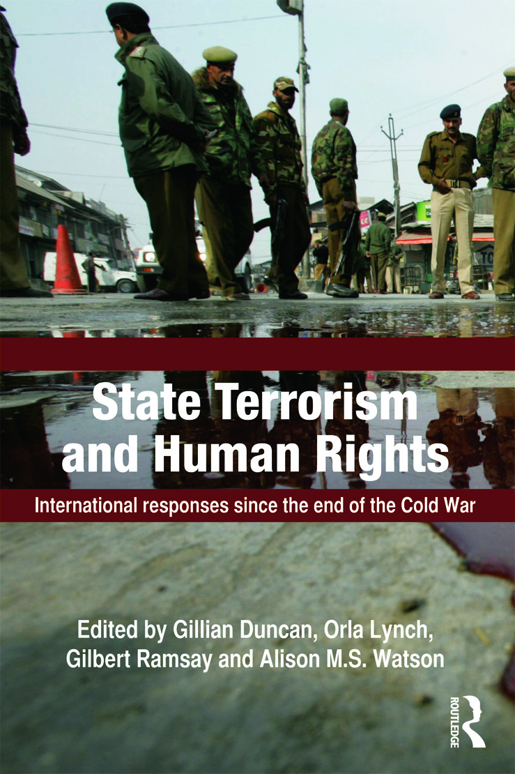 State Terrorism and Human Rights: International Responses since the End of the Cold War (Paperback) book cover