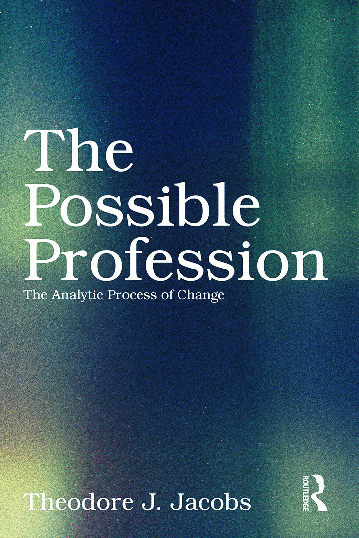 The Possible Profession:The Analytic Process of Change