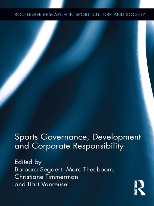 Sports Governance, Development and Corporate Responsibility book cover
