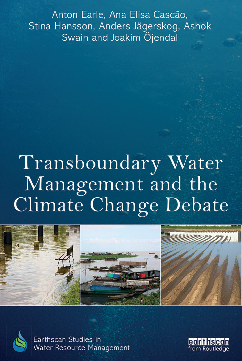 Transboundary Water Management and the Climate Change Debate (Hardback) book cover