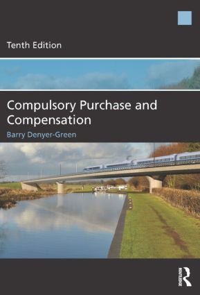 Compulsory Purchase and Compensation: 10th Edition (Paperback) book cover