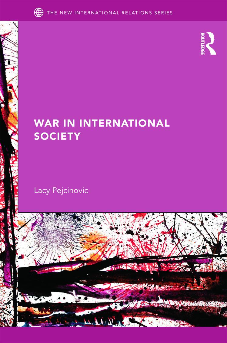 War in International Society (Hardback) book cover