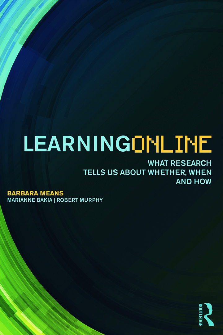 Learning Online: What Research Tells Us About Whether, When and How (Paperback) book cover